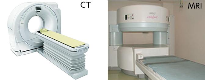 CTとMRI